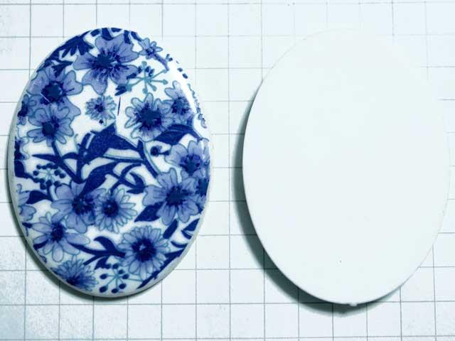CO472JJ 40×30 アクリルカメオ 青花
