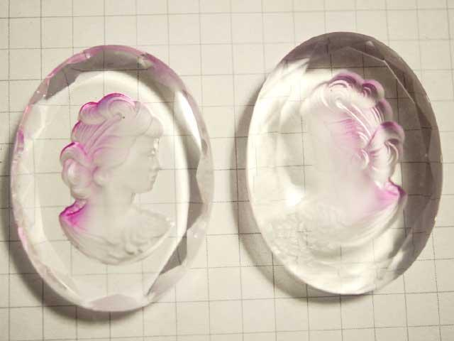CS549JJ 40×30 グラスインタリオ ピンク