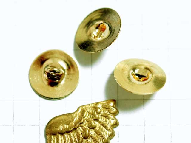 MF749FM 10mm ボタン用金具 金 5個入