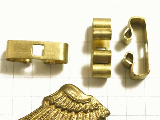 MF791JJ コンチョ ボロスライド 帯留金具 真鍮